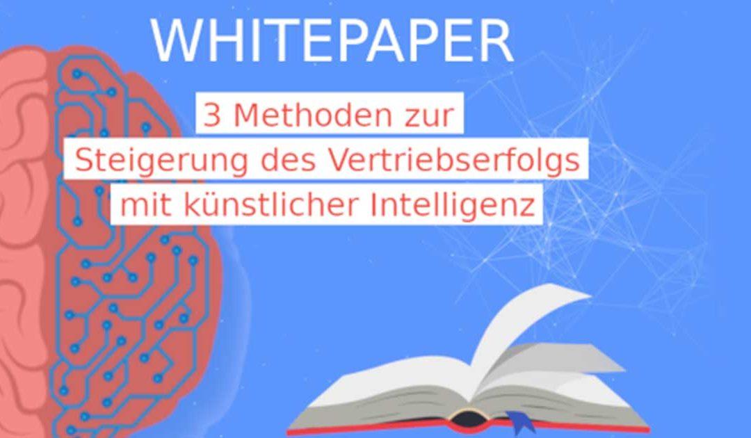 WOGRA Blog   Steigerung des Vertriebserfolgs mit künstlicher Intelligenz - Whitepaper